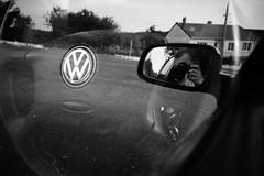 VW (mlNYs) Tags: blackandwhite bw white black france car vw nikon doubleexposure 24mm nikkor fx multiexposure longwy nikoniste d700 mlnys