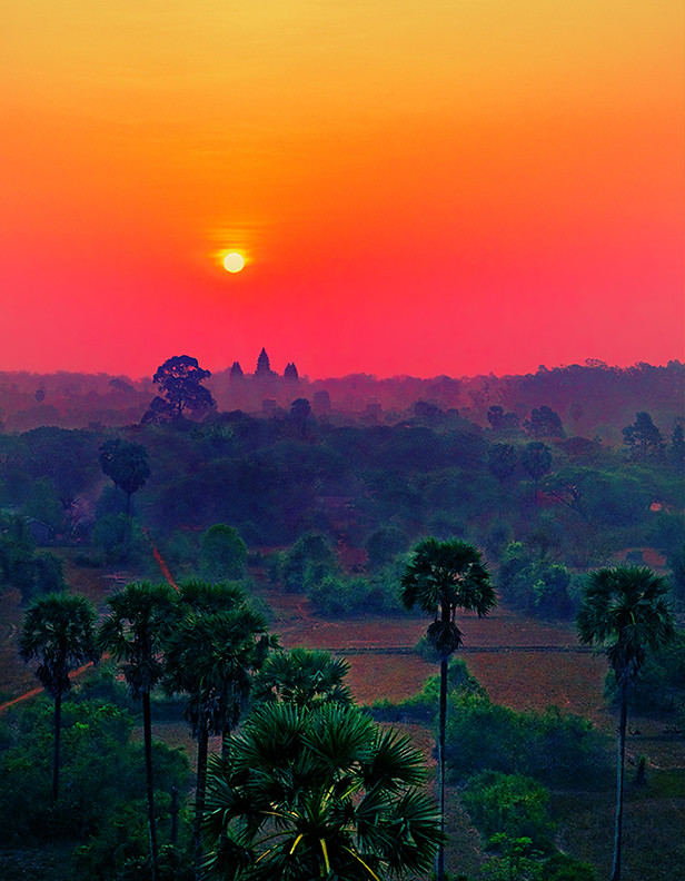 Angkor epic sunrise