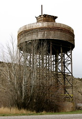 Vintage Water Tower,Logan,Montana. (montanatom1950) Tags: abandoned architecture vintage montana decay watertower historic logan dust decrepit derelict loganmontana