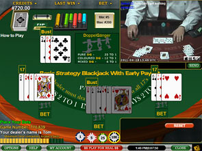 Blackjack Early Payout