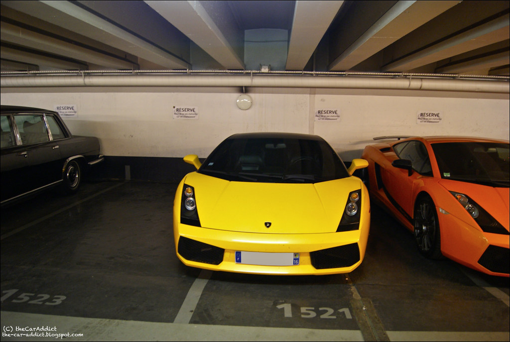 Carspotting Parking Foch Paris