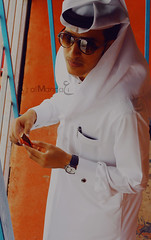 xD .. Kitkat  Break  (Abdulaziz Al-Manni ||  ) Tags: blue red sunglasses break kinder kitkat rayban doha do7a         dohazoo        faisl