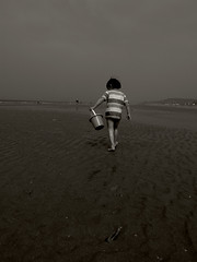 Walk on the wild side (Jrme Sneuw) Tags: beach normandie plage achille calvados walkonthewildside villerssurmer ricohgrdiii