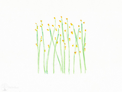 spring flowers (watercolor)