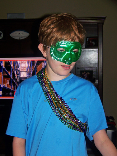 110306 Spencer in Mardi Gras garb 03