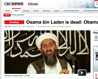 President Obama confirms death of Osama bin Laden