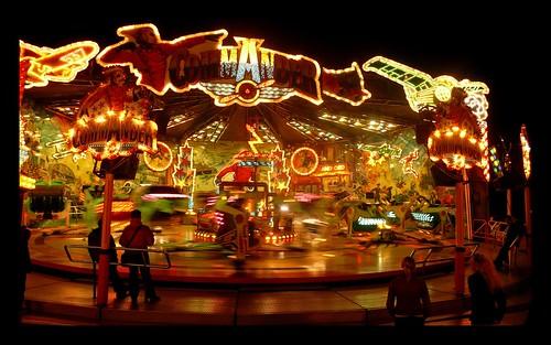 Bremen fun fair - black border