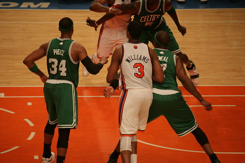 new york knicks playoffs 2011. NBA: New York Knicks - Boston Celtics (playoff 2011 4th game)