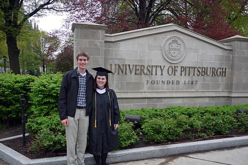 I'm a college graduate!