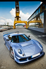 Mr blue sky (OFautography (Orange Frenzy)) Tags: uk blue light 2 france english port canon lens french eos 1 is dock industrial zoom mark right location m rouen ii porsche specs l 5d gto usm 12 70200 artisanal serie ef mk m12 noble supercars lightroom lightweight 3r m600 i ukdm gto3