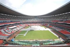 Segundo día de montaje - Estadio Azteca 15