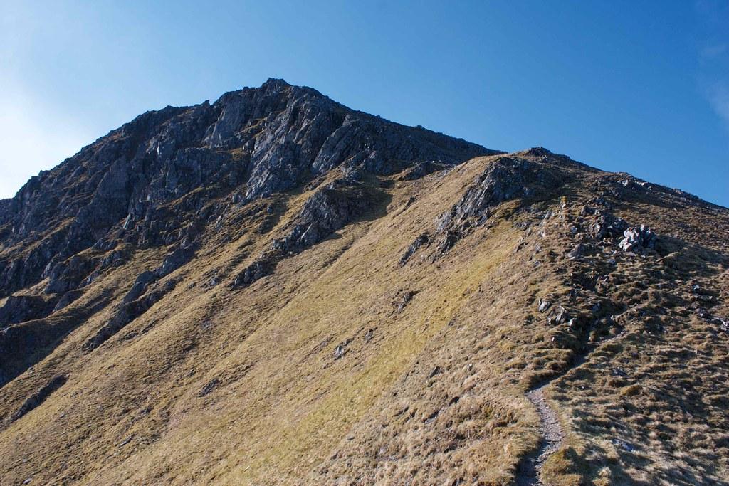 Descent from Sgurr Fhuaran