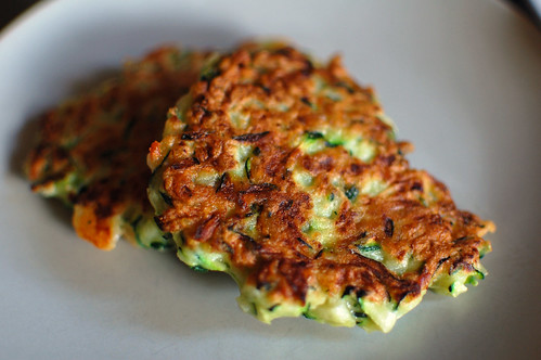 Courgette and Cheese Fritters