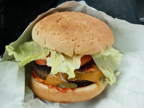 Cheddar Bacon Uncle Burger