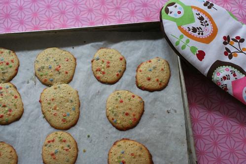 joghurt cookies mit rhabarbersaft