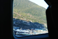 Taking off from Ketchikan