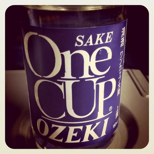 人生初のワンカップ(笑) #instagram