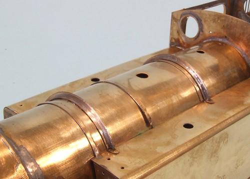 Boiler top detail