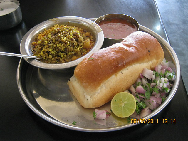 World famous Misal of Bhuleshwa Hotel in Wagholi - Kharadi annexe - on Nagar road, Pune