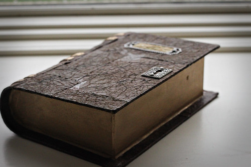 Antique-looking Leatherbound Book