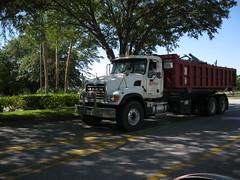 Mack Roll Back Truck (West Florida Fire Photography) Tags: metal trash truck garbage collection rubbish granite waste refuse recycling ro mack cv sanitation rolloff alliedscrapprocessorsinc