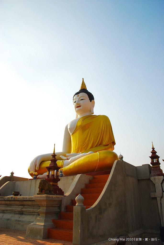 《清邁寺廟巡禮》Wat Monthian:孟天寺。