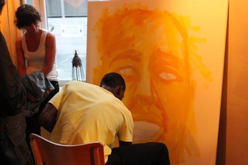 Bob painting 2/4