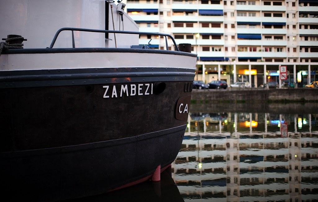 """Boat """"Zambezi"""", Toulouse"""