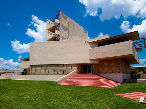 Frank Lloyd Wright Annie Pfeiffer Chapel