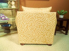 Golden Swirl 3 - The Newest Chair (vansdolltreasures) Tags: barbiefurniture playscale 16scalefurniture handmadedollfurniture