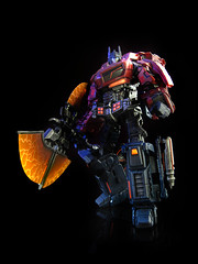 War for Cybertron : Prime (axe 1) (frenzy_rumble) Tags: camera matrix transformer evil icestorm hook custom commission fr sunstorm autobot reflector spyglass scavenger viewfinder mixmaster decepticon scrapper lacquer kitbash devastator pretender longhaul bonecrusher spectro combiner enamels skywarp thunderwing houseofkolors frenzyrumble frenzyrumblecom procustomizers peaugh seekershockwave midwarp