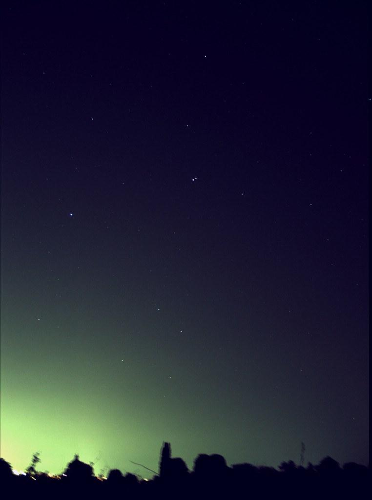 Saturn und Gamma Virginis, 30.Mai 2011, 22:08 MESZ