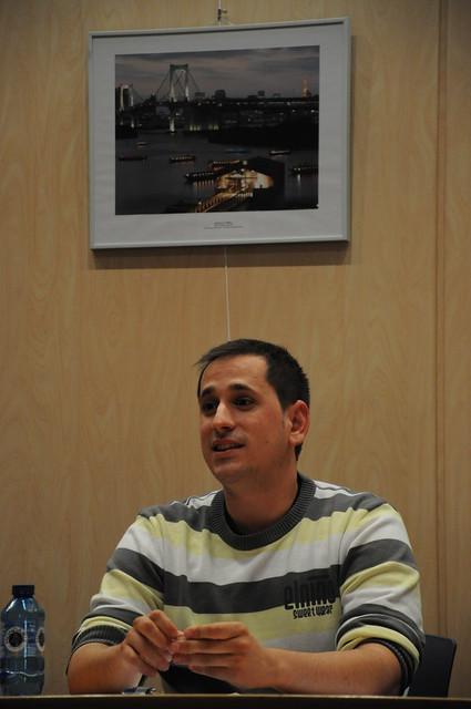 En la charla dada en Labastida en junio de 2011