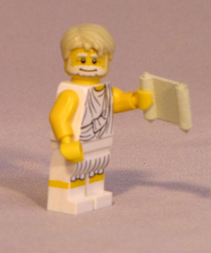 Custom minifig Philosopher