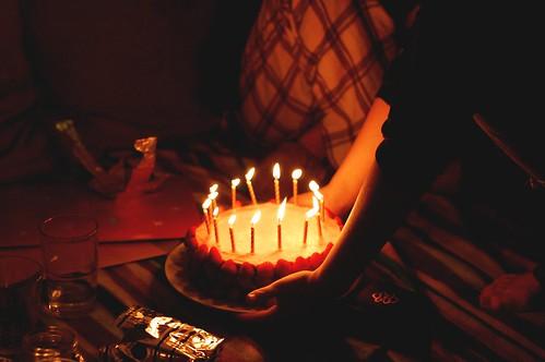 helen's birthday cake