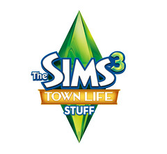 The Sims 3 Town Life Stuff Pack Logo