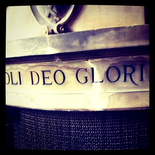 Soli Deo Gloria (Only Glory Through God)