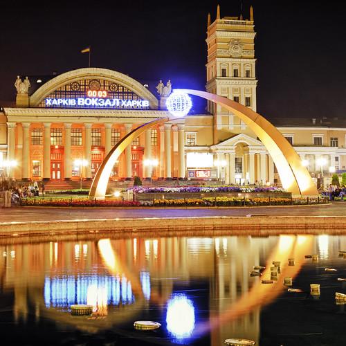 Южный Вокзал, Харьков ©  Aleksandr Osipov