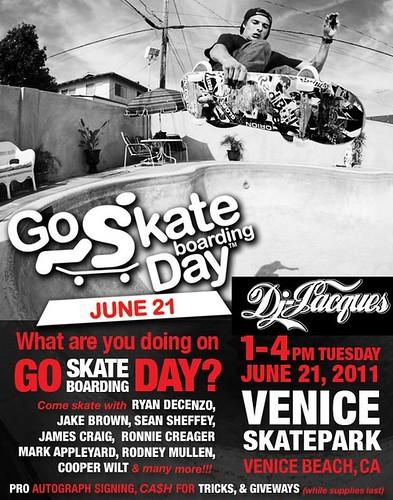 National Go Skateboarding Day