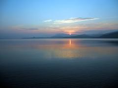Sardegna-Alba a Cannigione (MaOrI1563) Tags: sardegna sunset italy day sardinia alba sole giugno cannigione 2011 mygearandme pwpartlycloudy