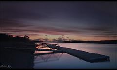 Strathclyde Park Loch (Tartan Gaz) Tags: sunset canon riverclyde hamilton sigma 1020mm hitech mds motherwell m74 500d bothwell strathclydecountrypark benro t1i