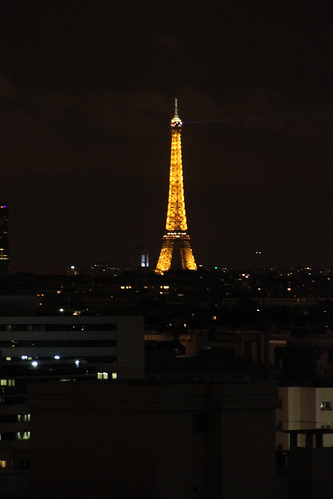 Eiffel Tower. Night