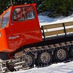 Old Thiokol still in operation at Grouse, 2014 Keurig Cup Spring Series Slalom at Grouse PHOTO CREDIT: Derek Trussler