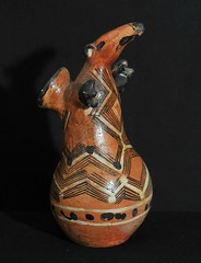 Ecuador Kichwa Quichua Pottery (Teyacapan) Tags: pottery ceramica barro jar crafts ecuador amazonian kichwa quichua tamadua anteater animal artesanias