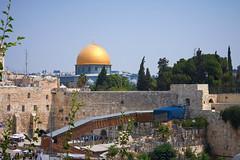 The Wailing Wall (singulartalent) Tags: wailingwall templemount domeoftherock security checkpoint eastjerusalem jerusalem muslim christian jew