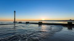 Breaking Dawn (Paul S Ewing) Tags: sunrise dawn portobello edinburgh seascape groynes uk scotland