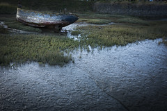 liminal (Robin Jaffray) Tags: rx100 sonydscrx100 sony edge old boat rye coast uk