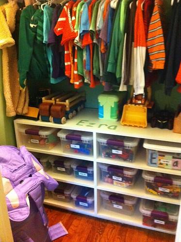 Ezra's closet