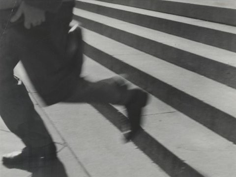 Lisette Model, New York Public Library-Running Legs, Circa 1940-1941