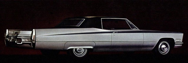 cadillac 1968 deville coupe